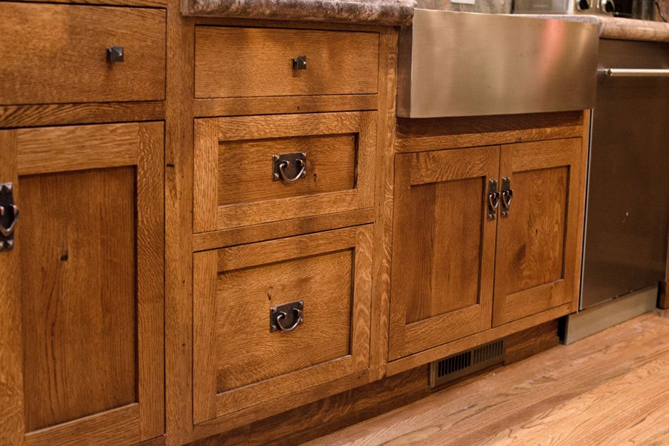 Custom Made Kithen Cabinets